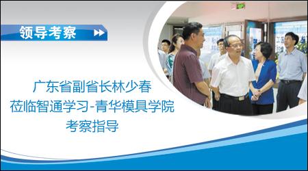 广东省副省长林少春莅临智通学习-青华模具学院考察指导