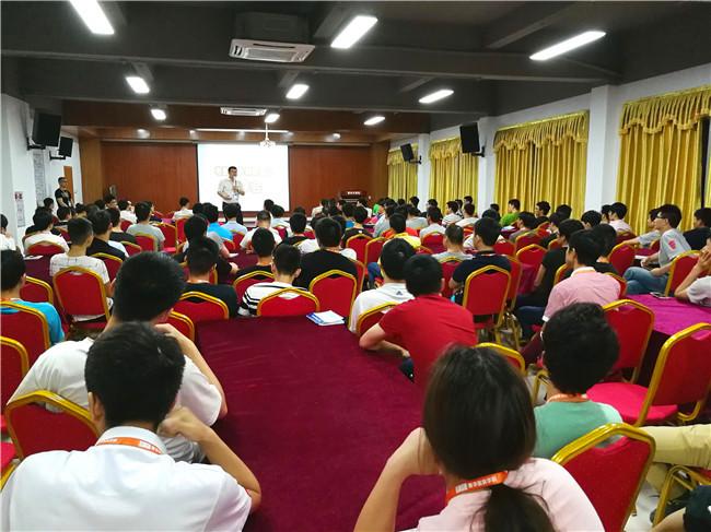 青华模具学院(长安校区)举办《卡特教练》电影分享会